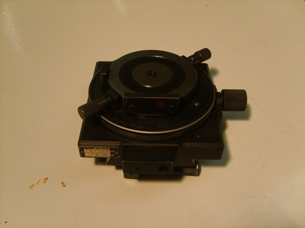 Eurospark 3R 30.6 Indexing Plate