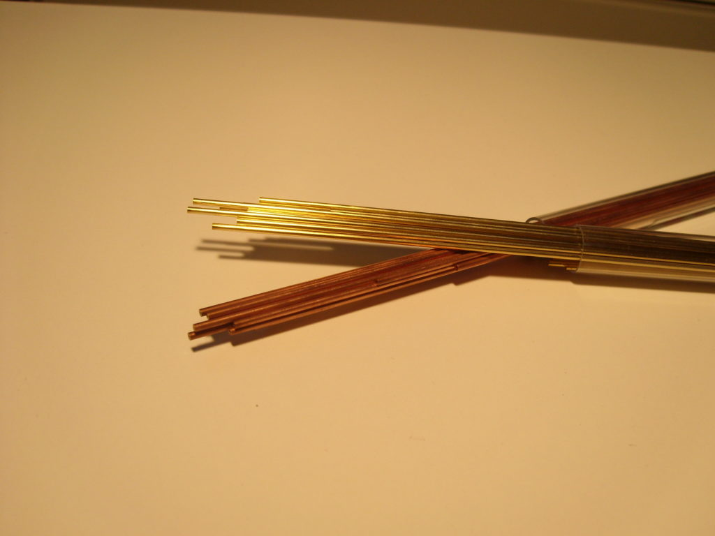 Eurospark Brass: copper tubes